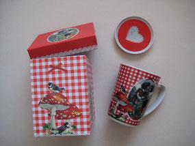 Tasse Young Love mit Deckel im Geschenkkarton