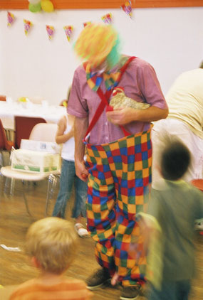 Ou faire le clown jusqu'à la retraite... © C. Coulais