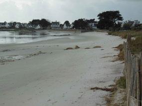 La plage d'Ezer