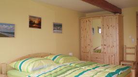 Sclafzimmer mit Doppelbett