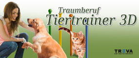 Game Banner Traumberuf Tiertrainer 3D