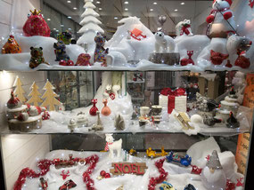 Рождественский базар в Барселоне