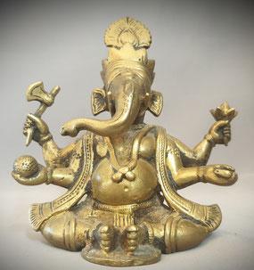 Ganesha bronze Inde Statue