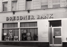 dudweiler, dresdner bank, alter stadtweg