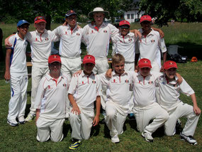Cricket Switzerland Swiss U13s