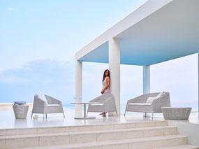 Kingston Garten-Lounge von Cane-line