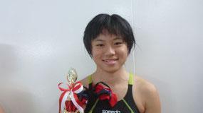 5年生以上優秀選手賞 細谷 瑛理子さん