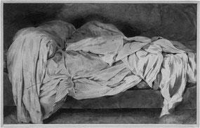 ©Eugène Delacroix, le lit défait.