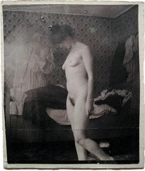 ©Edvard Munch, Rosa Meissner à l'hôtel Rohn à Warnemünde, 1907, épreuve gélationo-argentique, Munch-museet, Oslo.