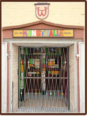 Eingang die kleine Kunsthalle