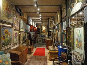 "Einblick ins ""Museum"""