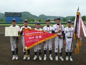 2011年 学童県大会優勝