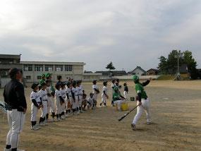 2012年サンダーバーズ野球教室