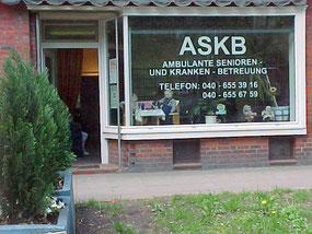 Ambulanter Pflegedienst, Seniorenbetreuung und Krankenbetreuung | ASKB Hamburg