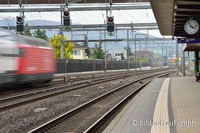 SBB, Rothrist, Bahnmontagen