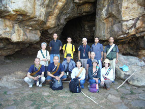 at Sven Leaf Cave in 2006