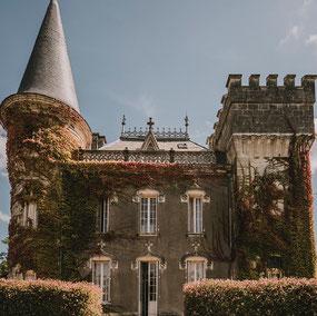 Château Belle Epoque in Les Landes, Linxe (40)