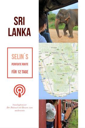 Sri Lanke Reisetipps als Podcast - einfach anhören!