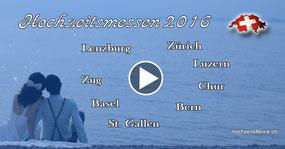 Hochzeitsmessen 2016 in der Schweiz