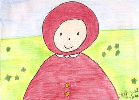 """Emily"" – Pinwheel Cartoon by Peggy Sue Clay 2-27-08"