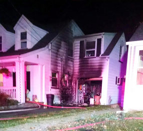 Structure Fire in Scotch Plains - Harding Road