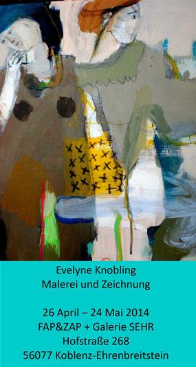 Evelyne Knobling: Hauptsache Rot, Galerie SEHR 2014