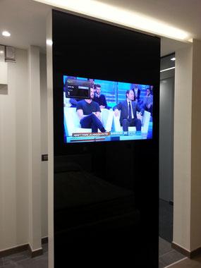 Realizzazione tv a scomparsa