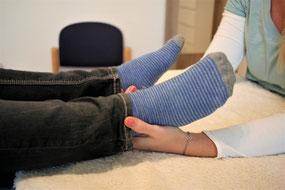 Kinder reagieren auf Cranio-Sitzungen sehr unterschiedlich © Claudia Stift