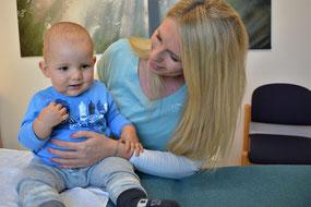 Babys haben nach der Geburt viel zu bewältigen. Cranio kann hier helfen. © Claudia Stift