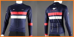 Custom Printed Classic Long Sleeved Cycle Jerseys