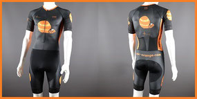 Endurance Tri Speedsuits with Sleeves and Mesh Pockets