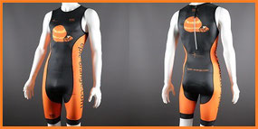 Custom 1-Piece Tri Suits Front Zip