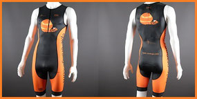 Custom 1-Piece Tri Suits (Rear Zip)