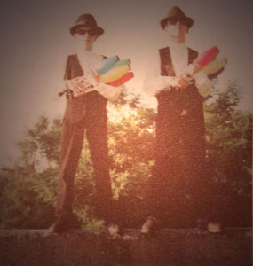 """""""Blues Brothers"""" 1990 A. Christ + T. Wopp"""