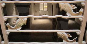 Detail Treppengeländer im Foyer