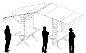 過去の屋台作品の一例