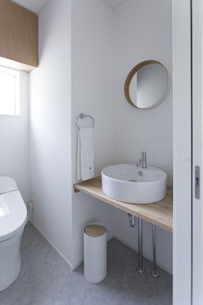 HACO_ハコイエ施工トイレの画像