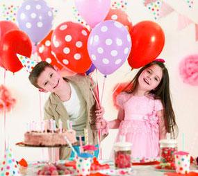 Geburtstag Party Luftballon Ballon Kindergeburtstag Dekoration Heliumballons Geschenkballons