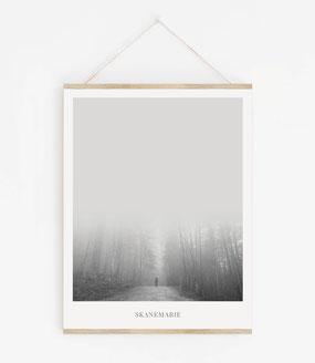 Landskap No.5 - Skandinavische Poster