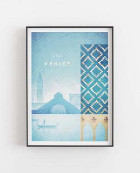 Venedig Poster Wandbild