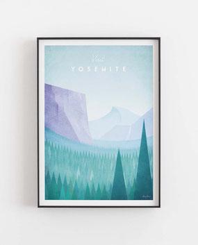 Yosemite Poster Wandbild