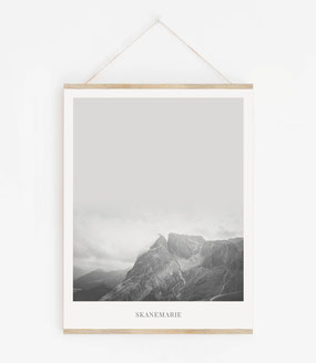 Landskap No.17 - Skandinavische Poster