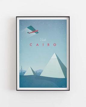 Schöne Orte Cairo Poster im skandinavischen Stil