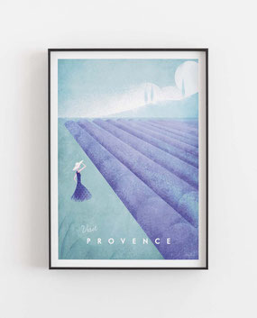 Lila Poster Flieder Poster Provence