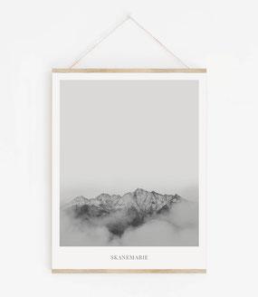 Landskap No.6 - Skandinavische Poster