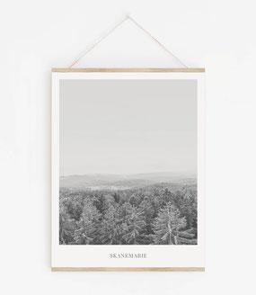 Landskap No.19 - Skandinavische Poster