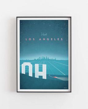 Schöne Orte Los Angeles Poster im skandinavischen Stil
