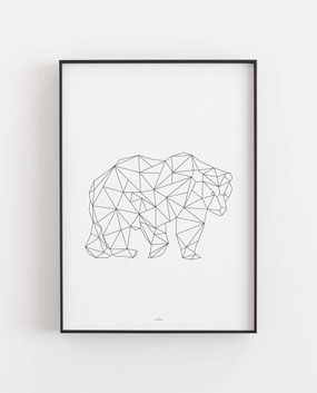 Bär geometrisch