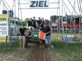 """2. Sieger schwere Klasse """"Team MV Fleischwangen"""""""