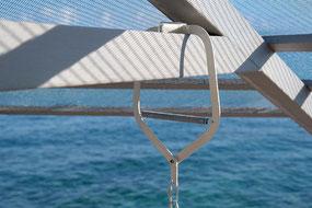 Zubehör für Federwiege, Türklammer, ideal für unterwegs, im Urlaub mit Baby
